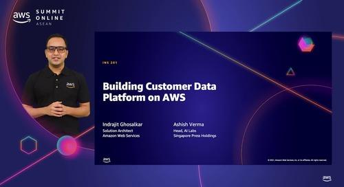 Building customer data platform on AWS [L200]