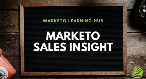 Marketo Sales Insight