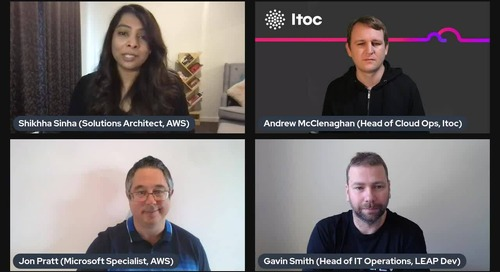 Modernise .Net Workloads on AWS | SaaS Chat with Leap and ITOC