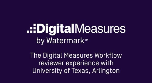 The Workflow Reviewer Experience with University of Texas - Arlington