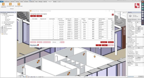 How to Process an MEP Openings Request (for structural engineers): Stabiplan Openings for MEP App
