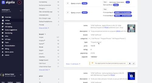Algolia Deep Dive Demo