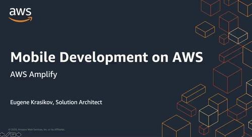 11.06.2020 | 10:00 Мобильная и веб-разработка с AWS Amplify