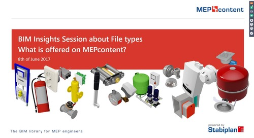 Webinar 'What content is offered on MEPcontent'