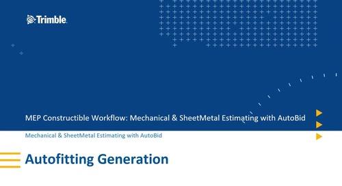 [Constructible Workflow] 2. AutoBid Autofitting Generation