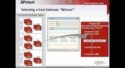 Best Practices for Managing Costing Projects - Solution Template, Part 1