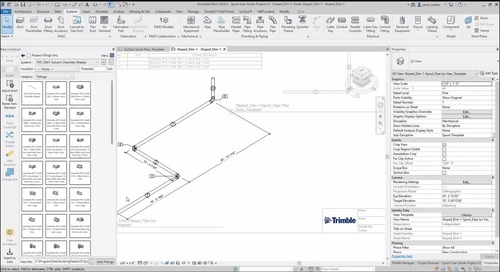 Spool User Guide Part 6: Dimensioning Sloped Pipe