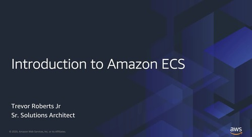 Introduction to Amazon ECS