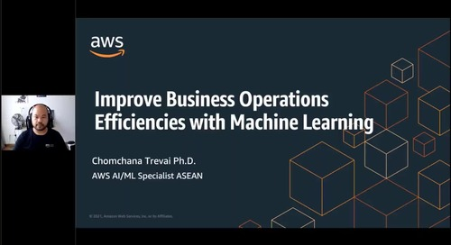 24 Mar Improve Business Operations Efficiencies with Machine Learning AM Session