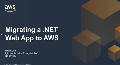 Migrating a .NET Framework Web App to AWS