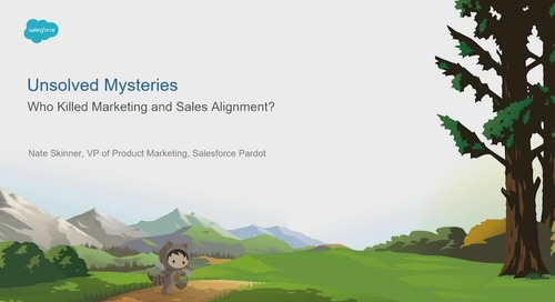 Unsolved Mysteries: Who Killed Marketing and Sales Alignment?