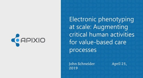Electronic phenotyping at scale