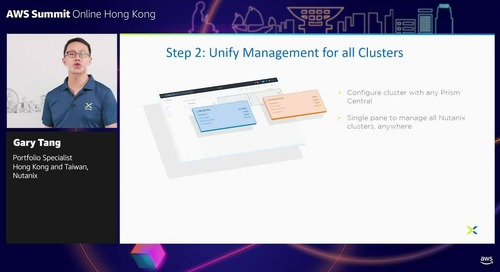 Sponsored by Nutanix: Journey into the cloud with Nutanix Clusters on AWS