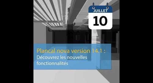 Présentation de la version 14.1 de Plancal nova