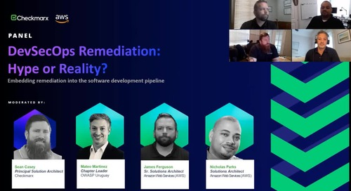 Webinar: DevSecOps Remediation Hype or Reality with AWS