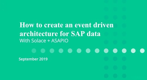 How to Create an Event-Driven Architecture for SAP Data