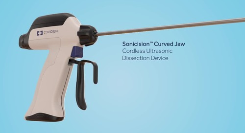 Animation: Sonicision™ Curved Jaw Cordless Ultrasonic Dissection Device