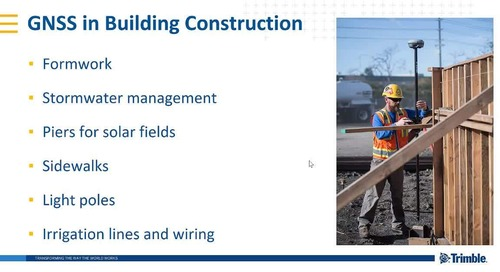 Webinar: Introduction to GNSS for Building Construction Layout