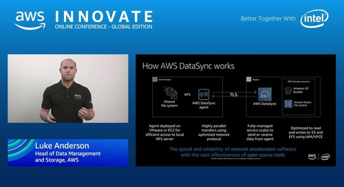 Using hybrid and edge computing to migrate your data to AWS - AWS Innovate