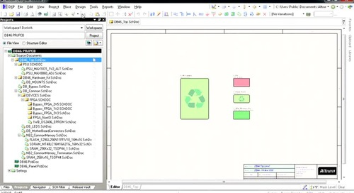 Structured Classes in PCB Editor - Features