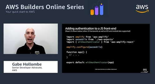 Building serverless applications that scale