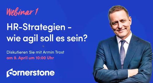 Webinar mit Armin Trost: HR-strategien - wie agil soll es sein?