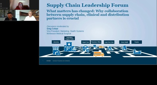 Why collaboration between supply chain, clinical & distribution partners is crucial