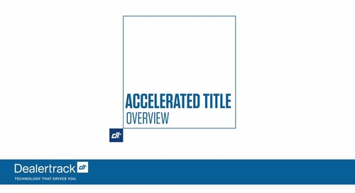 Accelerated Title Overview for Chase