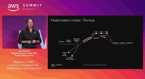 Migration to AWS: Creating a Foundation for Modernisation and Innovation