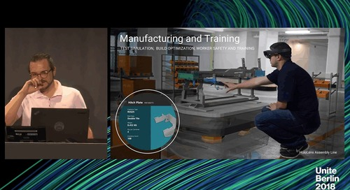 Unite Berlin 2018 - Developing Industrial Mixed Reality Experiences with Microsoft HoloLens
