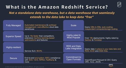 Video - Session 5 - Lab- Data Warehouse Modernization & Migration to Redshift