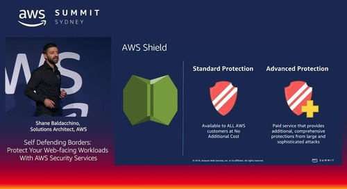 A Self-Defending Border: Protect Your Web-Facing Workloads with AWS Security Services
