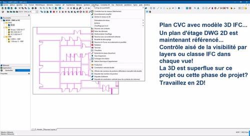 Video présentation Nova - 1 unique soft pour CAO 2D et BIM 3D
