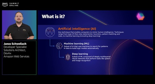 Enrich your serverless application with AWS artificial intelligence services