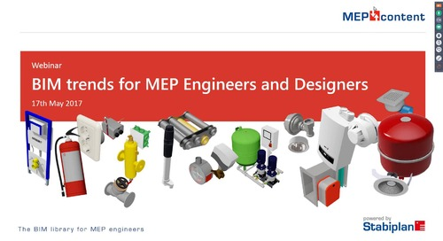 Webinar 'BIM trends for MEP Engineers and Designers'