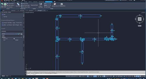 Getting Started with EC-CAD Piping Part 2: How to Draw Pipe