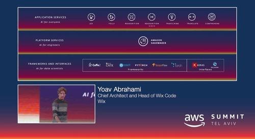 AWS Summit Tel Aviv 2018: Wix Customer Story