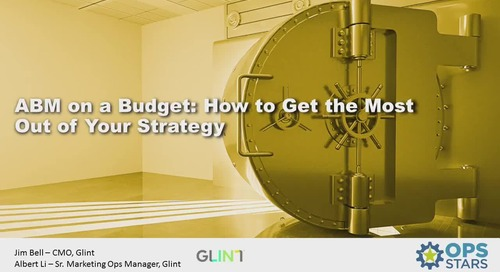 ABM on a Budget: How To Get the Most Out of Your Strategy