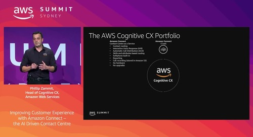 Improving Customer Experience with Amazon Connect – The AI Driven Contact Centre