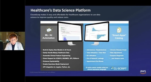 Closed Loop - Real world deployments of AI and predictive analytics driving tangible ROI in healthcare to