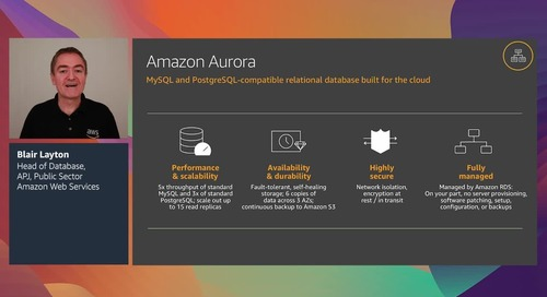 Purpose-built databases for modern applications