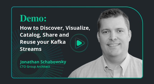 Demo: How to discover, visualize, catalog, share and reuse your Kafka Streams