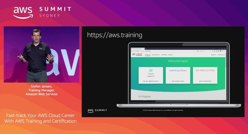 Fast-track your AWS Cloud Career with AWS Training & Certification
