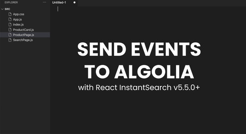 Send Insights API events with React InstantSearch