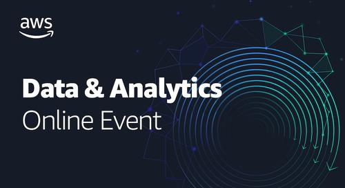 Data & Analytics Online Event - Modernize Your Data Infrastructure