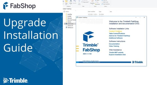 FabShop Upgrade Installation Guide