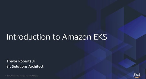 Introduction to Amazon EKS