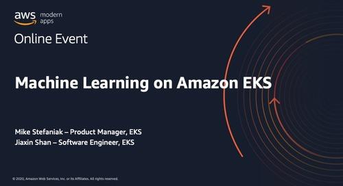 Machine Learning on Amazon EKS_Mike Stefaniak
