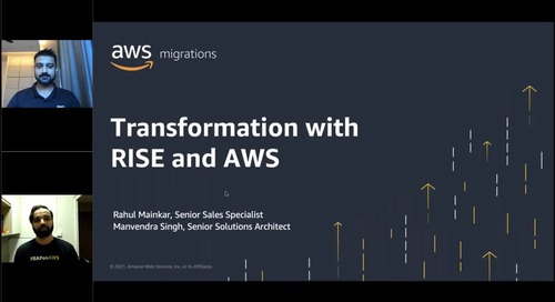 Transformation with RISE and AWS