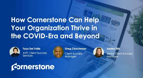Leveraging your existing Cornerstone investment to navigate organisational disruption